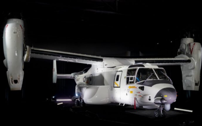 Navy Gets First Bell-Boeing CMV-22B: What It Means
