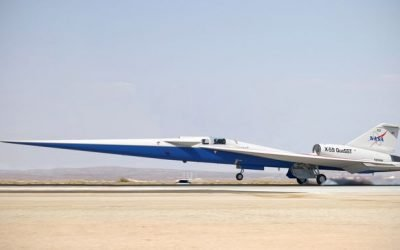 NASA Is Building Its Supersonic X-Plane Out of Old Warbirds