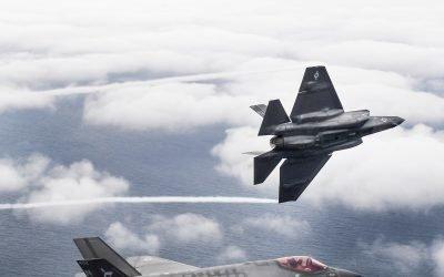 First F-35C Pilots Graduate from TOPGUN