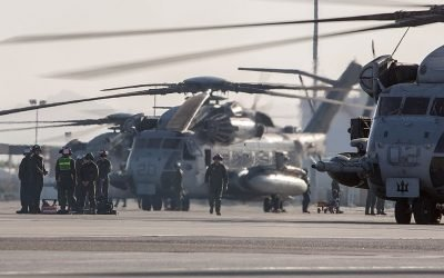 Military aviation mishaps and deaths are declining for the first time in years