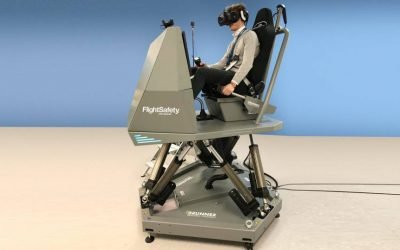 FlightSafety Mixes Reality in New Simulator
