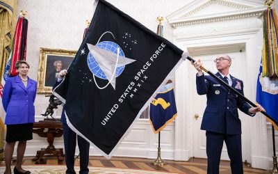 Why giving the Space Force naval ranks might widen the schism with the Air Force