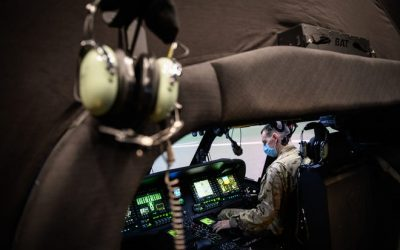 Fort Bragg helicopter pilots use new equipment for realistic training