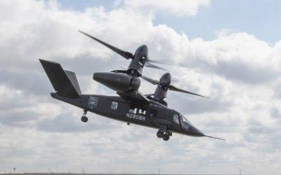 U.S. Army experimental test pilots fly Bell V-280 Valor