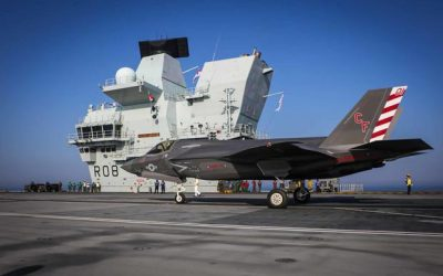 In First, Marine Corps F-35 Fighters Deploy Aboard British Aircraft Carrier