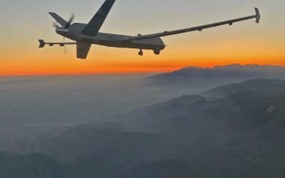 How California Guard MQ-9s Are Helping With Fire Response