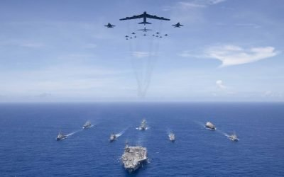 Navy conducts show of air power in the Indo-Pacific, another message to China