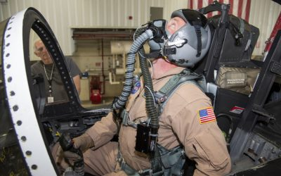 NASA study reveals how human physiology contributes to pilot breathing issues in high performance aircraft