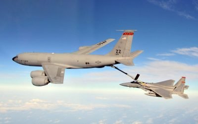 Going for a Unique KC-135A/B Record