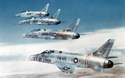 Flying Story: Landing in Three Ship Formation