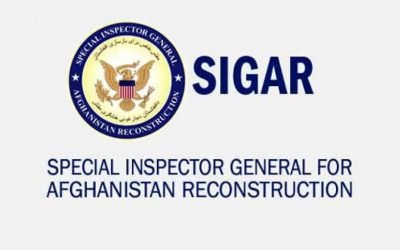 SIGAR: Quarterly Report for the United States Congress – July 30, 2021